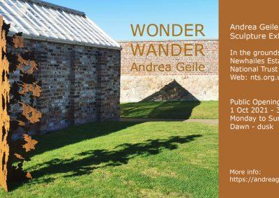WONDER WANDER at Newhailes